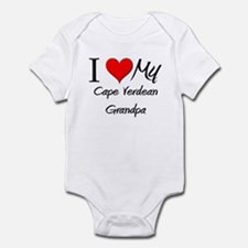 I Love My Cape Verdean Grandpa Infant Bodysuit