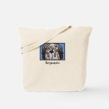 Anime Fawn Bergamasco Tote Bag