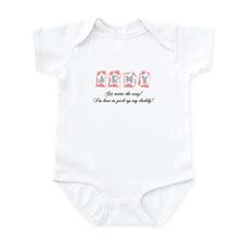Outta my way-Girl Infant Bodysuit