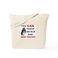 OLD DOG Tote Bag