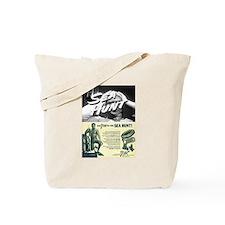 vintage scuba Tote Bag