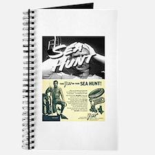 vintage scuba Journal