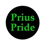 "Prius Pride 3.5"" Dark Button"