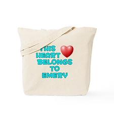 This Heart: Emery (E) Tote Bag