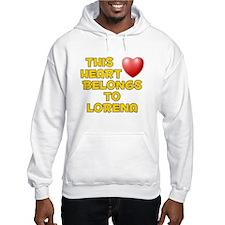 This Heart: Lorena (D) Hoodie Sweatshirt