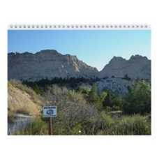 Cool South dakota countryside Wall Calendar