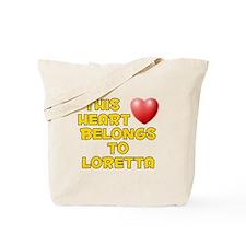 This Heart: Loretta (D) Tote Bag