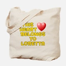 This Heart: Loretta (D) Tote Bag