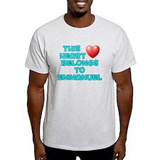 This Heart: Emmanuel (E) T-Shirt