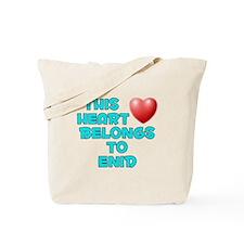 This Heart: Enid (E) Tote Bag