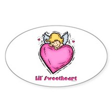 Lil' Sweetheart Oval Decal