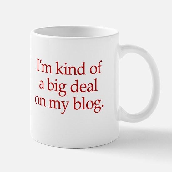Big deal on my blog