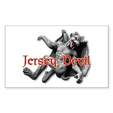 JERSEY DEVIL Rectangle Decal