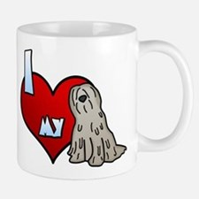 Love Fawn Bergamasco Small Small Mug