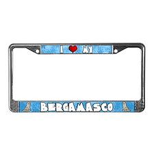 Love Fawn Bergamasco License Plate Frame