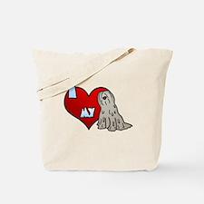 Love Fawn Bergamasco Tote Bag