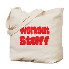 Workout Stuff Tote Bag