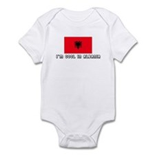 I'm cool in Albania Infant Bodysuit