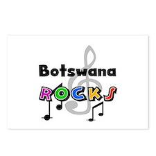 Botswana Rocks Postcards (Package of 8)