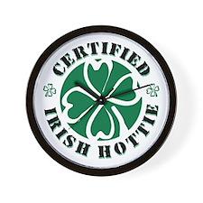 Certified Irish Hottie Wall Clock