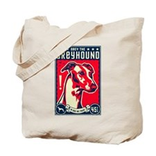 Obey the Greyhound! Tote Bag