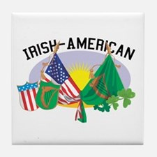 Irish-American Tile Coaster