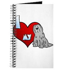 Love Grey Bergamasco Journal