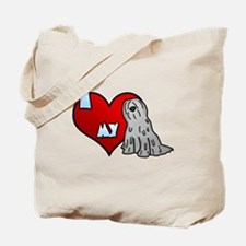 Love Grey Bergamasco Tote Bag