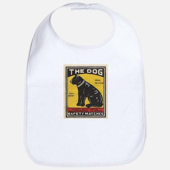 The Dog Matchbox Label Bib