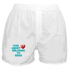 This Heart: Essa (E) Boxer Shorts