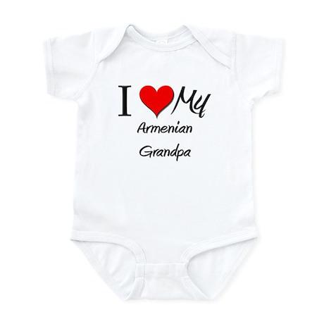 I Love My Armenian Grandpa Infant Bodysuit