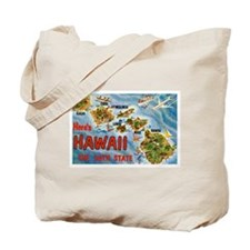 Greetings from Hawaii Tote Bag