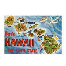 Greetings from Hawaii Postcards (Package of 8)