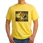 Champion Trumpeter Pigeons Yellow T-Shirt