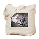 Champion Trumpeter Pigeons Tote Bag
