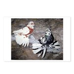 Champion Trumpeter Pigeons Postcards (Package of 8