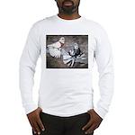 Champion Trumpeter Pigeons Long Sleeve T-Shirt