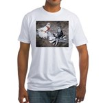 Champion Trumpeter Pigeons Fitted T-Shirt