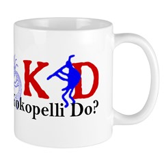 What Would Kokopelli Do? d31 Mug