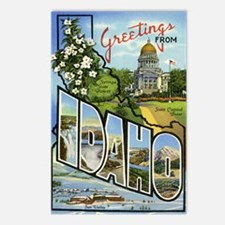 Greetings from Idaho Postcards (Package of 8)