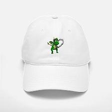 Smokey Heart Dragon Baseball Baseball Cap