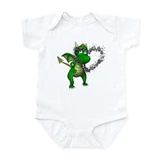 Smokey Heart Dragon Infant Bodysuit