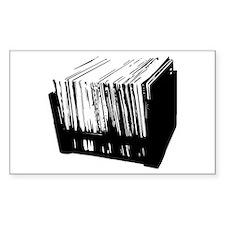 Crate Diggin Rectangle Decal