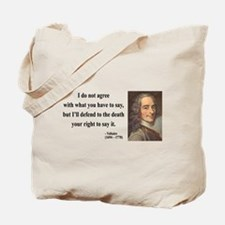 Voltaire 1 Tote Bag