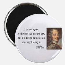 Voltaire 1 Magnet