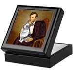 Lincoln's Corgi (Bl.M) Keepsake Box