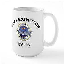 USS Lexington CV 16 Mug