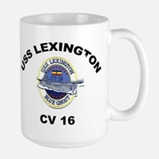 USS Lexington CV 16 Mug