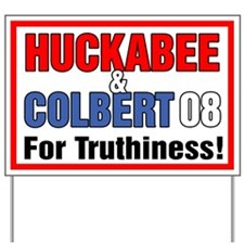 Huckabee Colbert Yard Sign