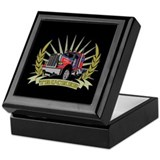 Truckers long haul Keepsake Boxes